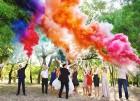 Цветной дым для свадьбы в Набережных Челнах